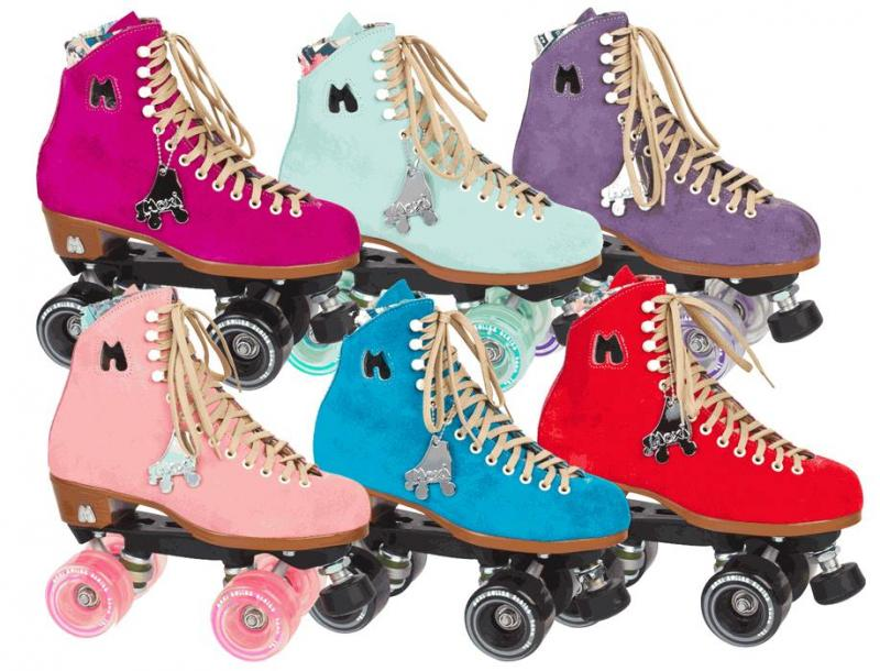 Moxi Lolly roller skates at Bigfoot Bike and Skate, Milwaukee, WI.