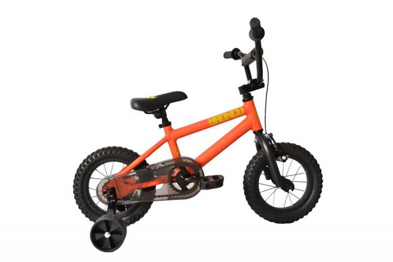 "S.E. BIKES BRONCO (orange w/ 12"" wheels at Bigfoot Bike & Skate, Milwaukee, WI."