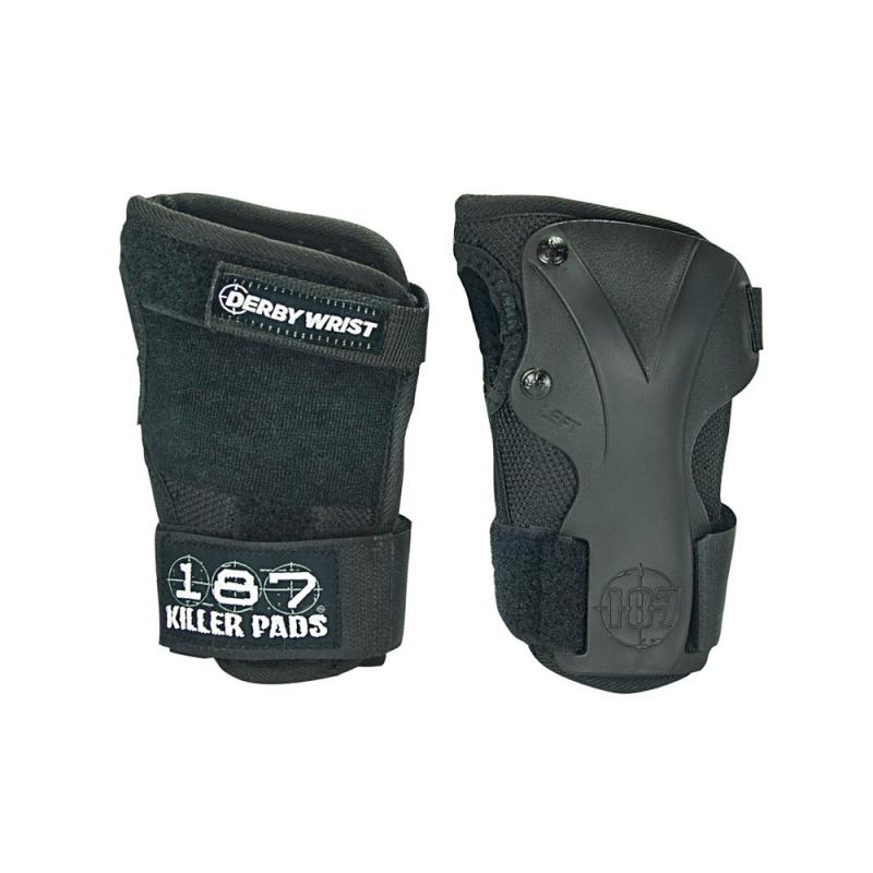 187 roller derby wrist guards in stock at Bigfoot Bike & Skate, Milwaukee, WI .