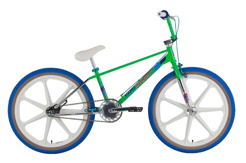 "2016 HARO master 24"" green w/white mags at Bigfoot Bike & Skate, Milwaukee, WI."