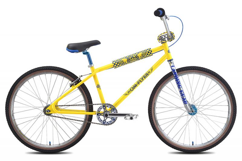 "2016 S. E. BIKES OM FLYER 26"" BMX bike at Bigfoot Bike & Skate, Milwaukee, WI."