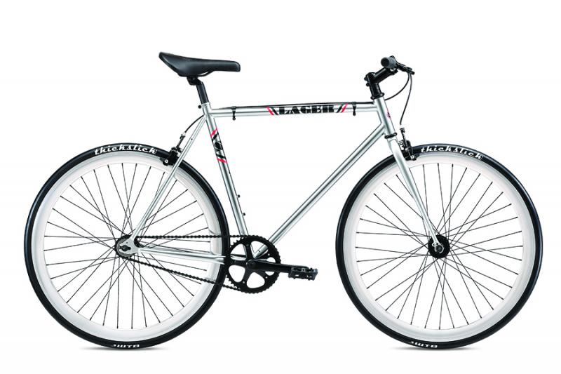2019 SE BIKES LAGER fixed gear single speed bicycle at Bigfoot Bike and Skate.