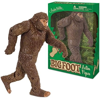 Bigfoot action figure at Bigfoot Bike & Skate, milwaukee, WI 53207.