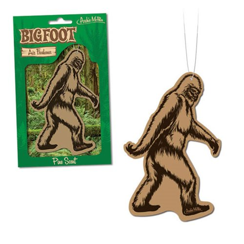 Bigfoot air freshener at Bigfoot Bike and Skate, Milwaukee, WI 53207.
