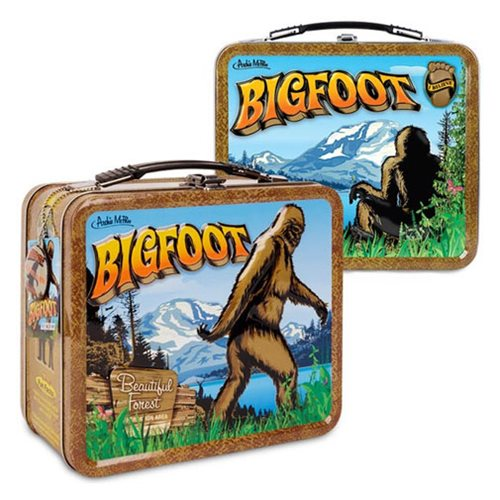 Bigfoot lunchbox at Bigfoot Bike and Skate, Milwaukee, WI 53207.