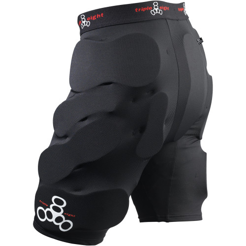 Triple Eight Bumsavers padded shorts at Bigfoot Bike and Skate,