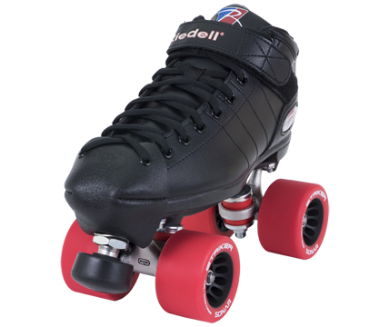 Riedell R3 roller derby speed skates at Bigfoot Bike and Skate, Milwaukee, WI.