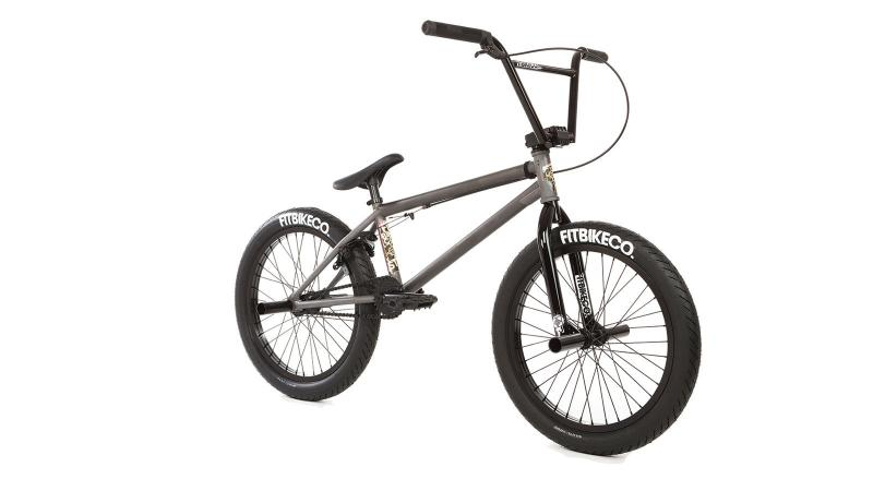 "FIT BMX 2018 STR 20"" bicycle (clear) at Bigfoot Bike & Skate, Milwaukee, WI."