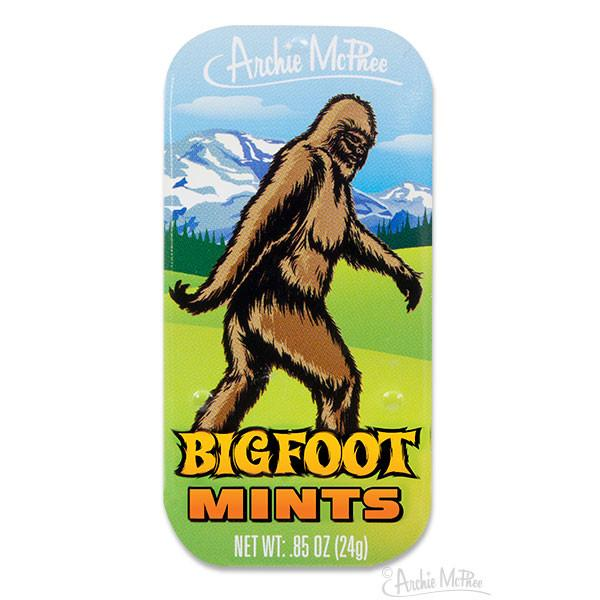 Bigfoot mints at Bigfoot Bike and Skate, Milwaukee, WI 53207.