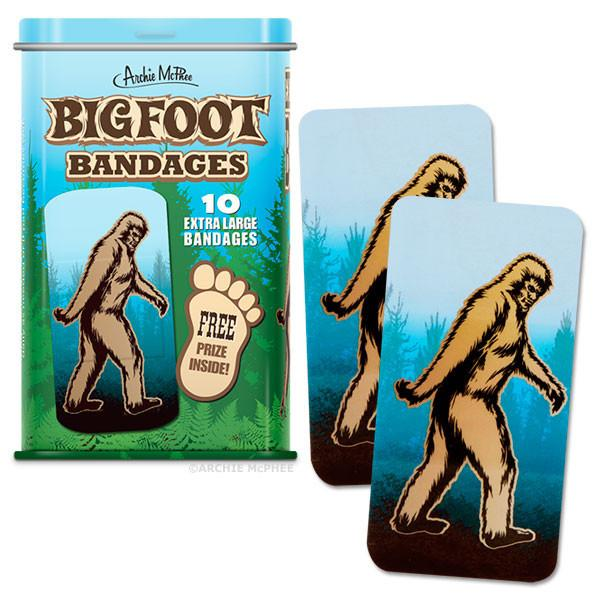 Bigfoot bandages at Bigfoot Bike and Skate, Milwaukee, WI 53207.