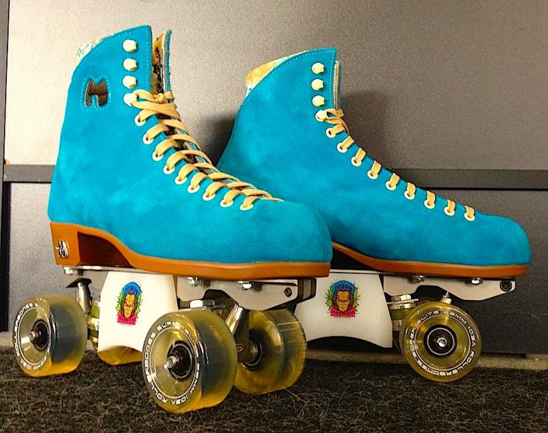 Bigfoot slider blox, grind blocks and sliders for rollerskates.