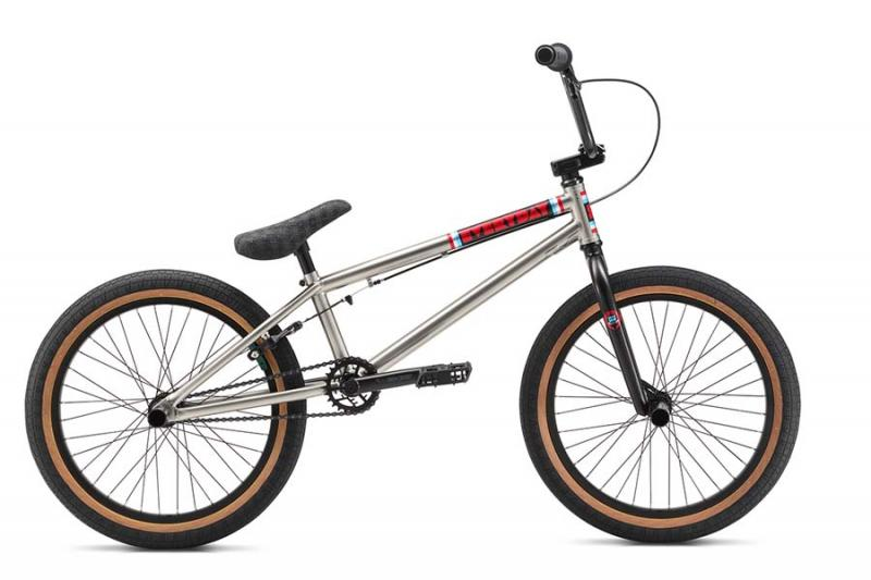 S.E. BIKES Everyday BMX bike (silver) at Bigfoot Bike & Skate, Milwaukee, WI.
