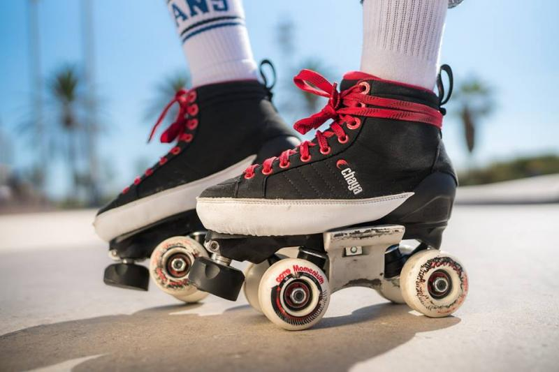 Chaya Karma PRO skatepark roller skates at Bigfoot Bike & Skate, Milwaukee, WI.