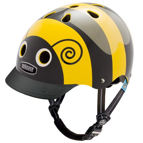 "Nutcase ""little nutty"" helmets at Bigfoot Bike and Skate, Milwaukee, WI 53207."