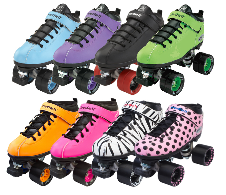 Riedell DART speed skates at Bigfoot Bike and Skate, Milwaukee, WI, 53207.