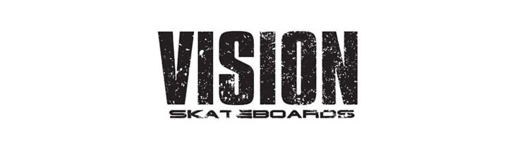 Vision skateboards at Bigfoot Bike and Skate, Milwaukee, WI 53207.