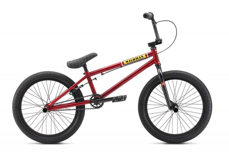 S.E. BIKES Wildman BMX bike (red) at Bigfoot Bike & Skate, Milwaukee, WI 53207.